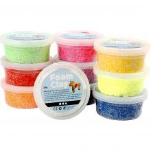 Foam Clay 10 x 35 gr. - Basisfarver