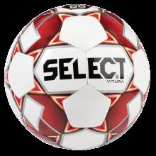Fodbold Select str. 4 - Rød/hvid