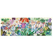 Galleri puslespil m. 1000 brikker - Regnbue tigre