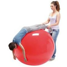 Gymnastikbold 85 cm rød