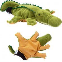 Hånddukke - Krokodille