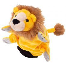 Hånddukke - Løve
