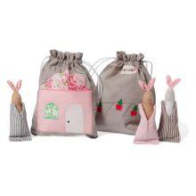 Historiepose i stof - Kaniner