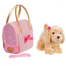 Hund i taske - Cocker Spaniel