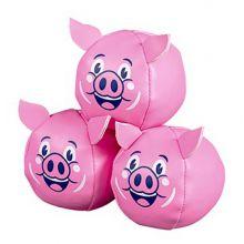 Jonglørbolde - Flyvende grise, 3 stk.