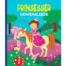 Kæmpemalebog - Prinsesser (43 x 50 cm.)