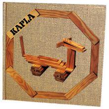 Kapla inspirationsbog - Beige (Let)