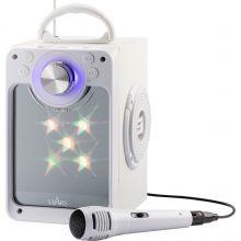 Karaokemaskine m. bluetooth + lys