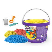 Kinetic Sand i spand 2,7 kg. - Inkl. værktøj