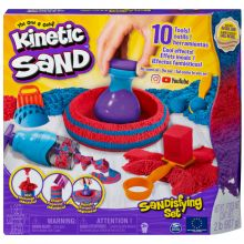 Kinetic Sand - Sandtastisk byggesæt