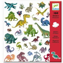 Klistermærker - Dinosaurer, 160 stk.