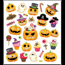 Klistermærker - Halloween, 1 ark