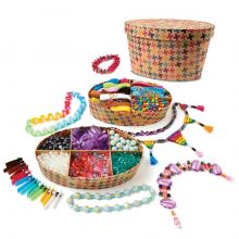 Krea-kasse - Lav smykker, 850 dele