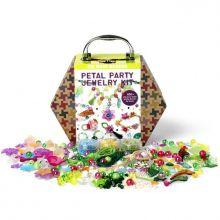 Krea-kuffert - Blomster & Smykker, 850 dele