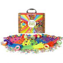Krea-kuffert - Pangfarver, 350 dele