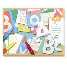 Kreativ æske - Dekorer dine egne bogstaver