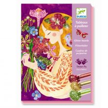 Kreativ æske - Glitterkort, En duft af blomster