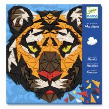 Kreativ æske - Mosaik, Tiger & Gorilla
