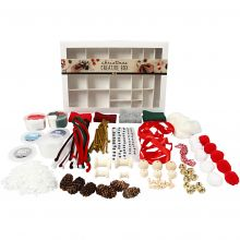 Kreativ kasse - Traditionel jul