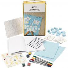Kreativ med papir og karton