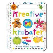 Kreative Krabater- Stickere, skabeloner og opgaver