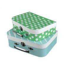 Kuffertsæt 2 stk. - Blå & Grøn