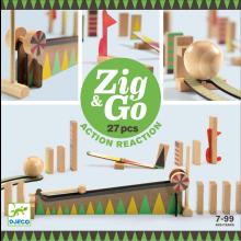 Kuglebane Zig & Go, 27 dele