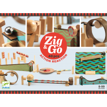 Kuglebane Zig & Go, 48 dele