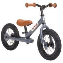Løbecykel - Trybike med to hjul, Antracitgrå