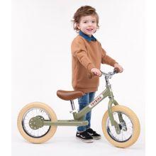 Løbecykel - Trybike med to hjul, Grøn