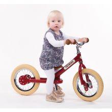 Løbecykel - Trybike med to hjul, Rød