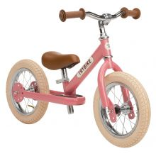 Løbecykel - Trybike med to hjul, Rosa