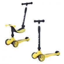 Løbehjul/Løbecykel - Kick'n'Ride, Gul
