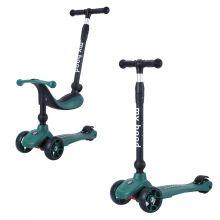 Løbehjul/Løbecykel - Kick'n'Ride, Mørkegrøn