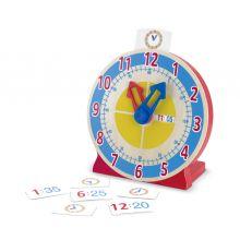 Lær Klokken - Ur med lærekort