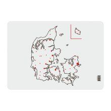Læringsunderlag - Danmarkskort
