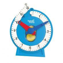 Lær Klokken - Aftagelig tallinje, Simpel