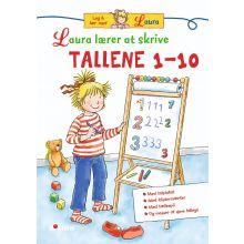 Laura lærer at skrive tallene 1-10