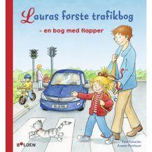 Lauras første trafikbog - en bog med flapper