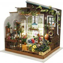 Lav et miniaturerum - Tagterrasse