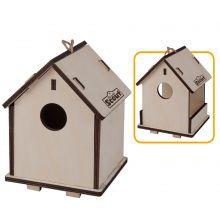 Lav selv 2-i-1 fuglehus og foderbræt