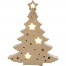 Lav selv - Juletræ med lys