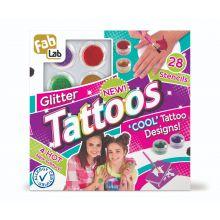 Lav selv tatoveringer med glimmer