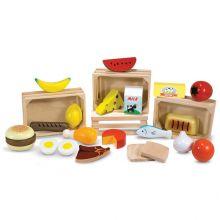 Legemad - Fødevarer i 4 kasser