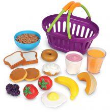 Legemad - Indkøbskurv med morgenmad