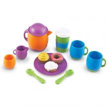 Legekøkken tilbehør - Mit første kaffe- og kagesæt