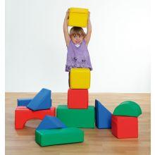 Skumklodser - Byggesæt m. 12 blokke