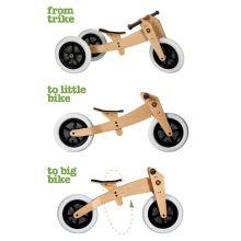 Løbecykel - Wishbone 3-i-1 Original træ