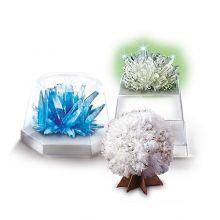 Krystaldyrkning - Lær om krystaller