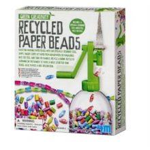 Papirperler - Lav selv af genbrugspapir